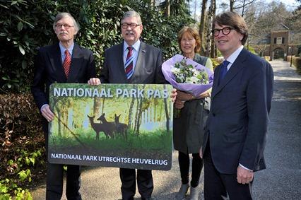 de presentatie Nationaal Parkpas